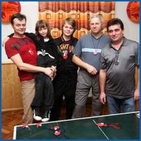Silvestr tabletenis anobrž ping-pong 2011