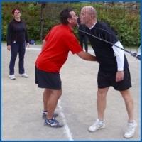 Volejbal - zavírání hřiště 25.9.2010